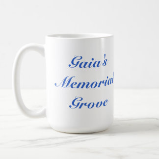 Taza conmemorativa de la arboleda de Gaia