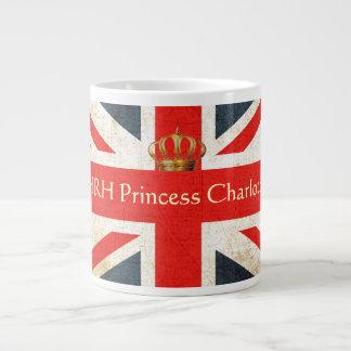 Taza conmemorativa de princesa Charlotte de HRH Taza Grande
