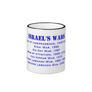 Taza conmemorativa de Wars* del israelí