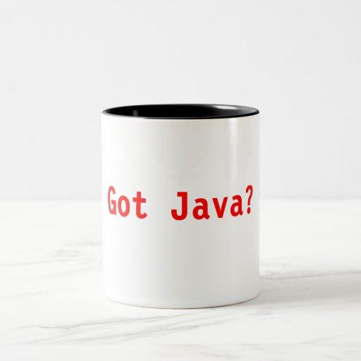 Taza conseguida de Java