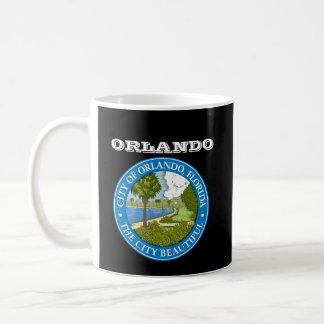 Taza/Copa de Orlando la Florida de Orlando* la Flo Taza Básica Blanca
