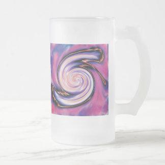 Taza cósmica del vidrio esmerilado de la vuelta 16