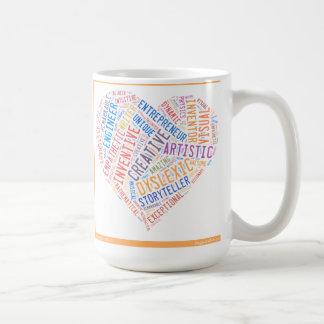 Taza creativa del disléxico
