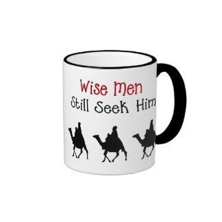Taza cristiana del navidad de los hombres sabios
