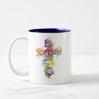 Taza cruzada - iris