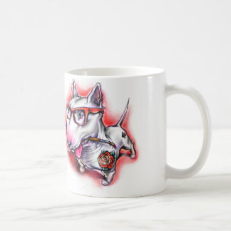 Taza CSB Crazy Bull Terrier Tazas De Café