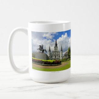 Taza cuadrada de Jackson New Orleans