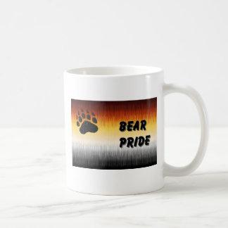 Taza Cub de la bandera del orgullo del oso