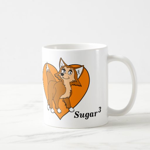 Taza cubicada azúcar