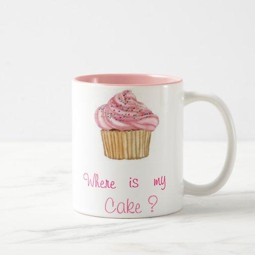Taza Cupcake Rosado