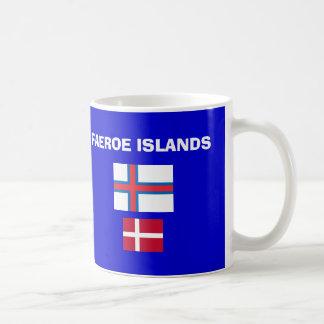 Taza danesa del código de islas de las FO Faeroe*