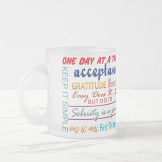 taza de 12 del paso lemas de la recuperación