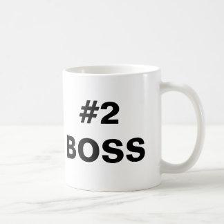 Taza de #2 Boss