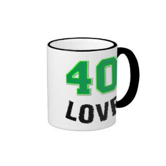 taza de 40 amores
