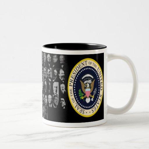 taza de 44 presidentes
