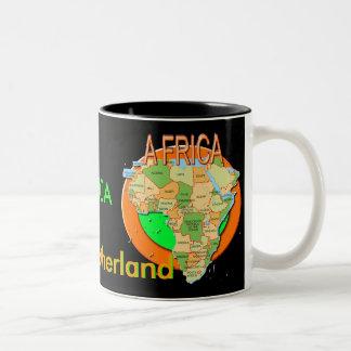 Taza de ÁFRICA