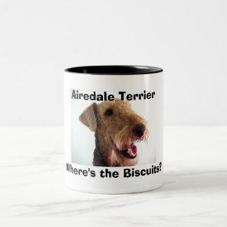 Taza de Airedale Terrier