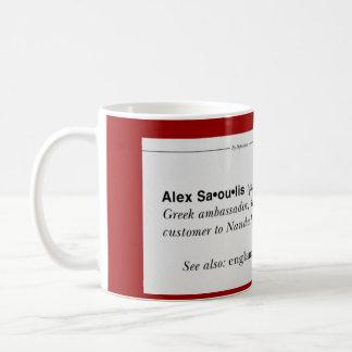 Taza de Alex del asesor