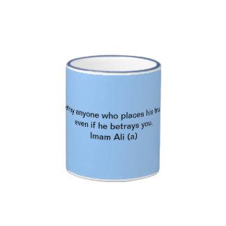 Taza de Ali Hadith del imán