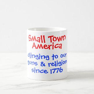 Taza de América de la pequeña ciudad