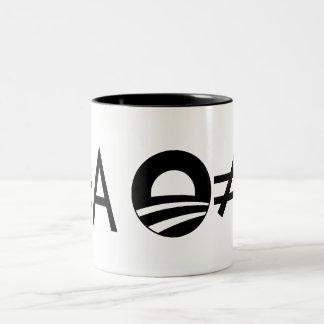 Taza de Anti-Obama Objectivst