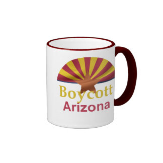 Taza de Arizona del BOICOTEO