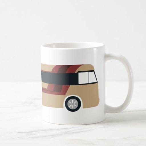 Taza de autobús turística