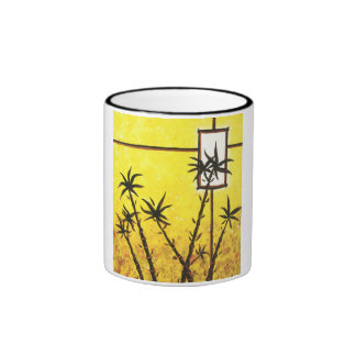 Taza de bambú del campanero del arte