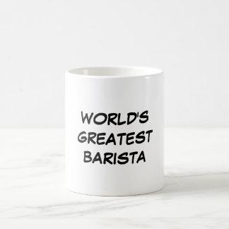 """""""Taza de Barista más grande del mundo"""" Taza De Café"""