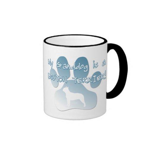 Taza de Boston Terrier Granddog