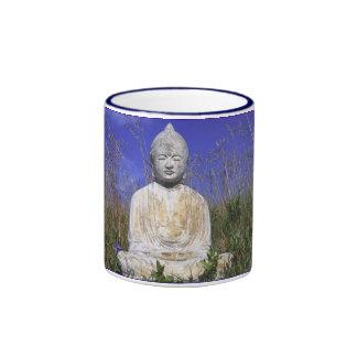 Taza de Buda del cielo azul