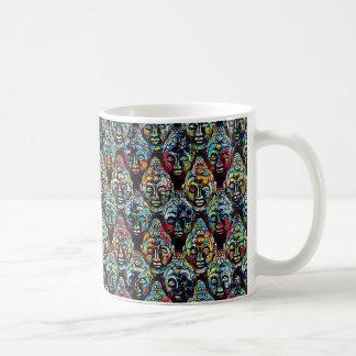 Taza de Buddhas (multicolora)