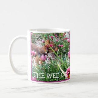 Taza de Bumblesnot:  El pequenito/flores