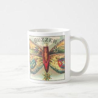 """Taza de Butterly del """"zumbador"""" del vintage"""