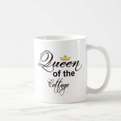 taza de café 11oz - reina de la cabaña