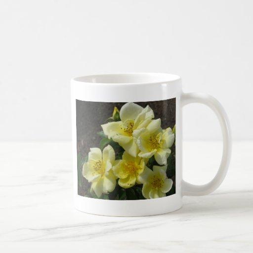 taza de café 11oz - rosas amarillos