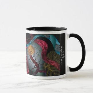 ¡Taza de café adaptable de la base del cráneo!