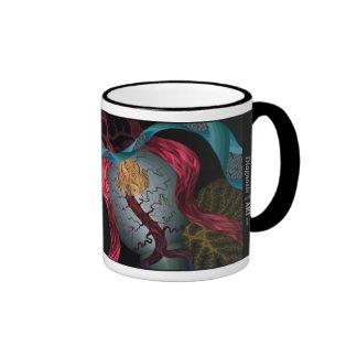 ¡Taza de café adaptable de la base del cráneo! Taza De Dos Colores