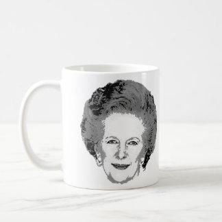Taza de café adaptable de Margaret Thatcher
