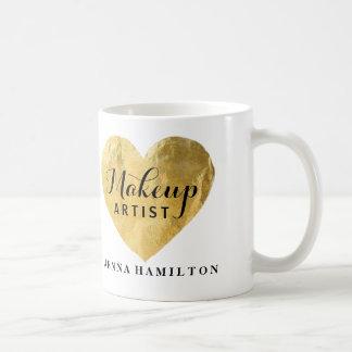 Taza de café adaptable del artista de maquillaje