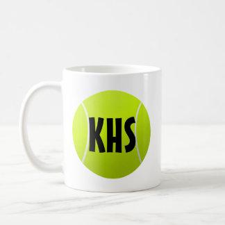 Taza de café adaptable del tenis