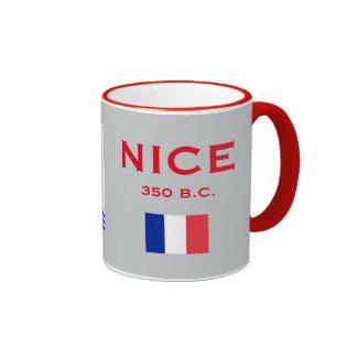 Taza de café agradable de Francia