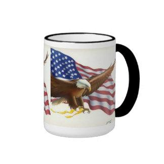 Taza de café americana