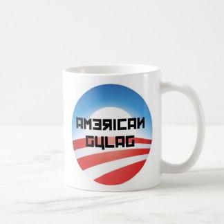 Taza de café americana del gulag
