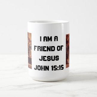 Taza de café, amigo de Jesús