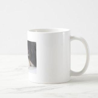 Taza de café arrogante del perro de aguas de rey C