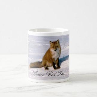 Taza de café ártica del Fox rojo de Alaska
