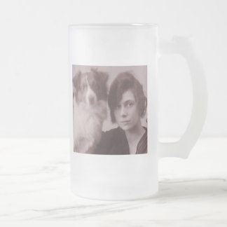 Taza de café astuta de la foto de la sepia de la