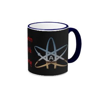 Taza de café atea