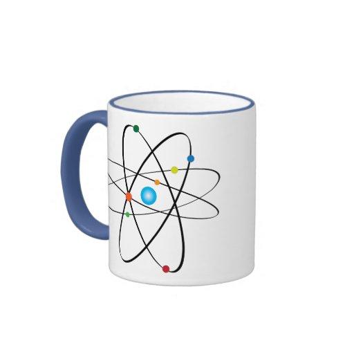taza de café atómica